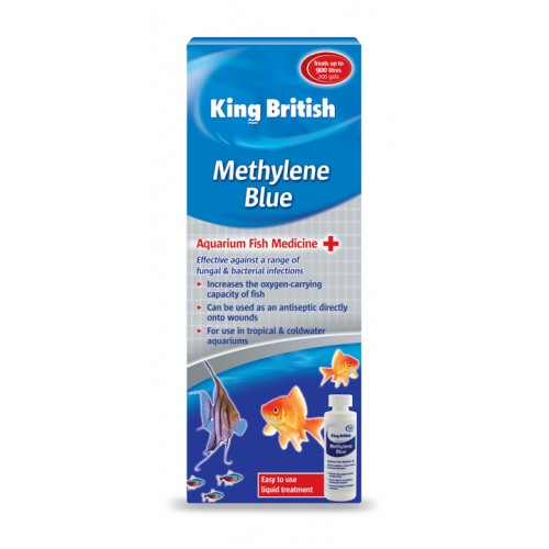 King British Aquarium Methylene Blue 100ml