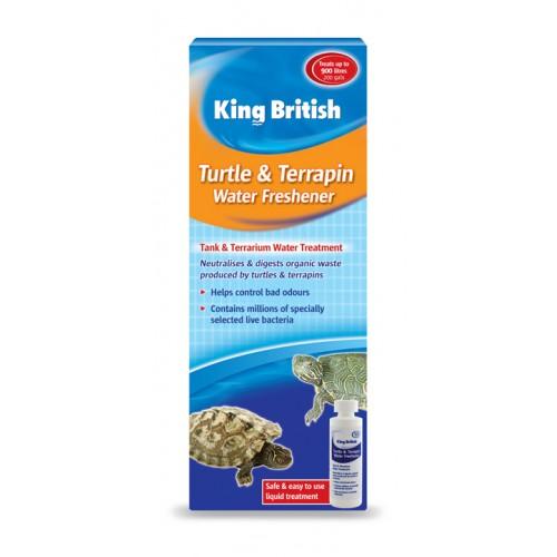 King British Aquarium Turtle Terrapin Water Fresh 100ml