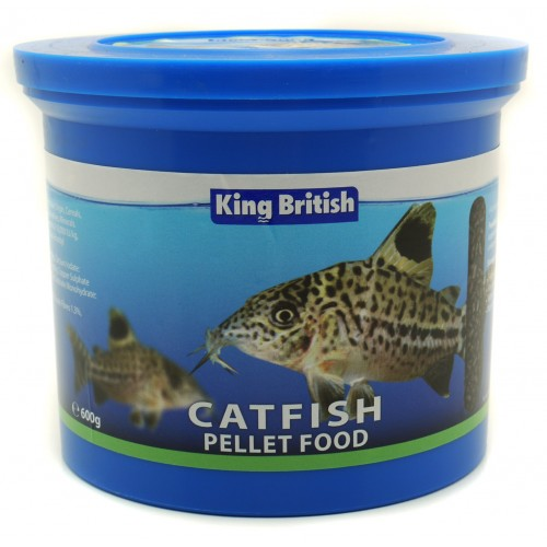 King British Catfish Pellets (with Ihb) 600g
