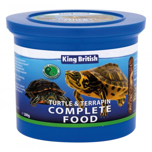 King British Turtle & Terrapin Food 200g