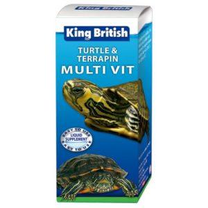 King British Turtle & Terrapin Multi Vit 20ml