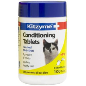 Kitzyme Cat Conditioning 100 Tablets