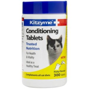 Kitzyme Cat Conditioning 300 Tablets