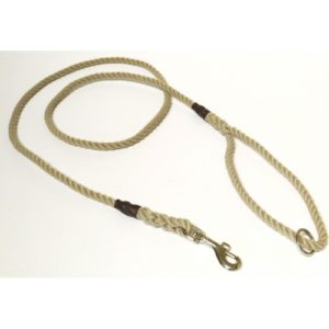 Kjk Ropeworks Clip & Ring Lead Natural 10mm X 170cm
