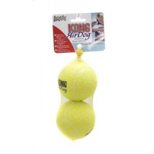 Kong Air Squeaker Tennis Balls Large 2pack
