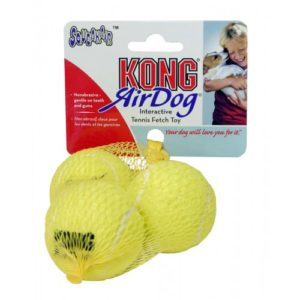 Kong Air Squeaker Tennis Balls Small 3pack
