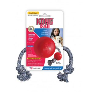 Kong Ball W/rope Small