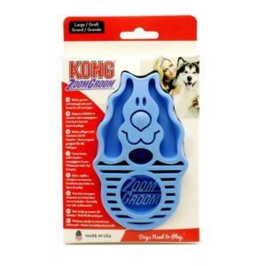 Kong Zoom Groom Dog Boysenberry