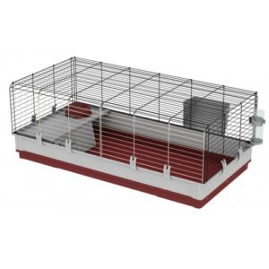 Krolik Small Animal Cage Burgundy 120 X 60 X 50cm