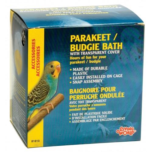 Living World Bird Bath Parakeet/budgie Large