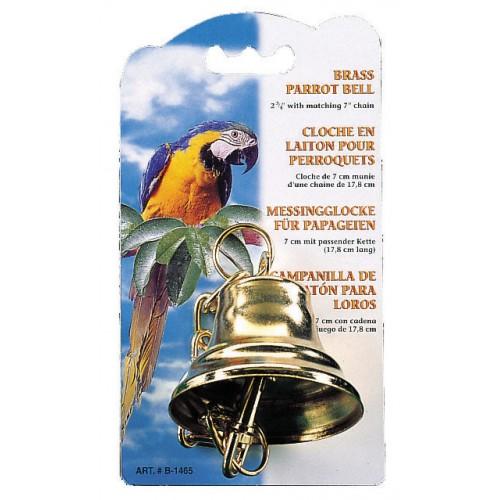 Living World Brass Bell For Parrots