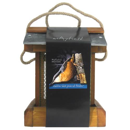 Mayfield Premium Woodland Peanut Feeder Slatterdale Single