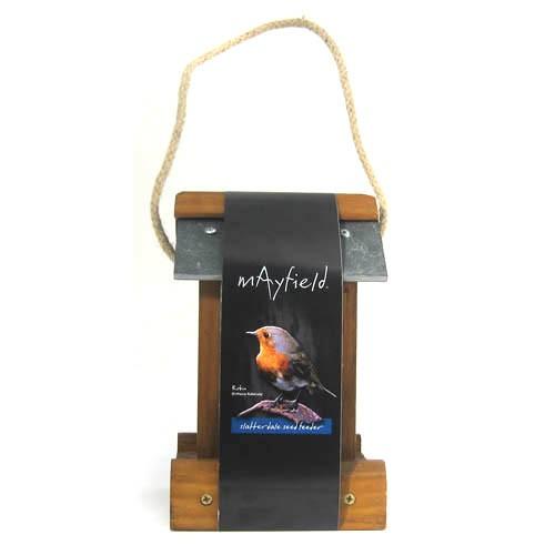 Mayfield Premium Woodland Seed Feeder Slatterdale Single