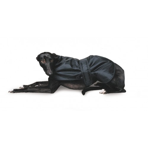 Muddy Paws Greyhound Coat Black 70cm