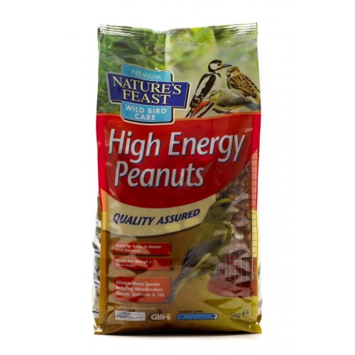 Natures Feast High Energy Peanuts 12.75kg