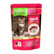 Natures Menu Cat Adult Pouch Beef & Chicken