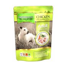 Natures Menu Dog Adult Pouch Chicken With Veg & Rice 300g x8