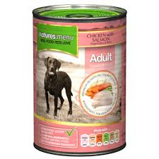 Natures Menu Dog Can Chicken & Salmon With Veg 400g