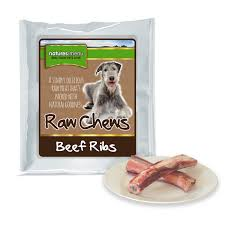 Natures Menu Dog Raw Frozen Chews Beef Ribs 2Pces