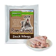 Natures Menu Dog Raw Frozen Chews Duck Wings 5pce