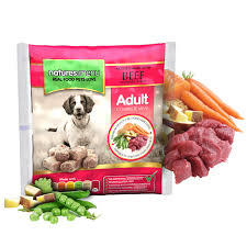 Natures Menu Dog Raw Frozen Complete Nuggets Beef 1kg