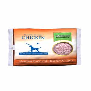 Natures Menu Dog Raw Frozen Free Flow Chicken 2kg X6