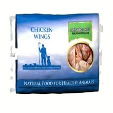 Natures Menu Dog Raw Frozen Whole Meat Chunks Chicken Wings 2kg X6