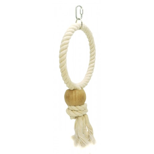 Parrot Rope Ring Lge