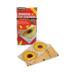 Pest Stop Window Fly Stickers 4pack