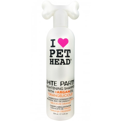 Pet Head Shampoo Brightening White Party 354ml