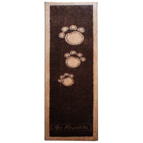 Pet Runner Doormat Brown 45x150cm