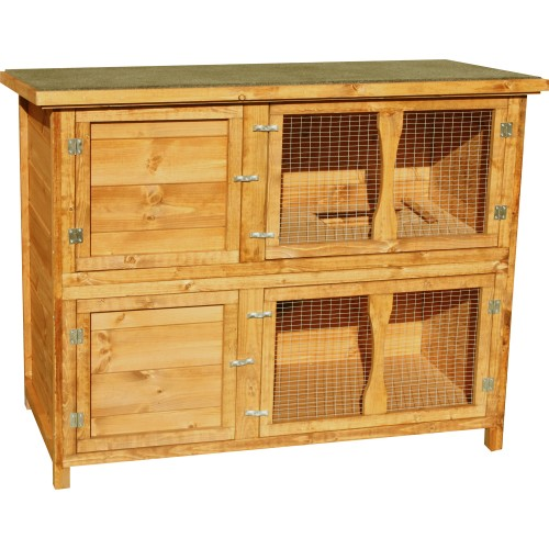 Pet Specialist Mews Hutch 131 X 65 X102cm