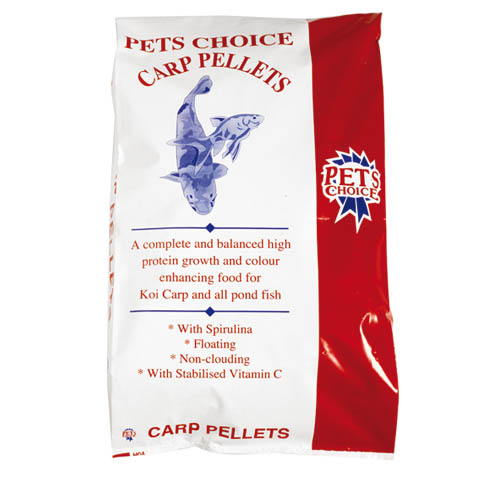 Pets Choice Carp Pellets 10kg