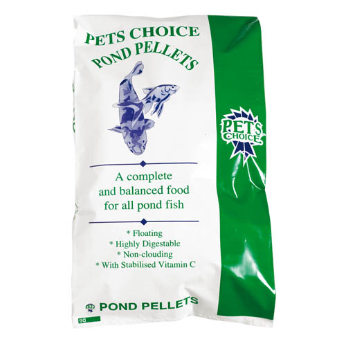 Pets Choice Pond Pellets10kg