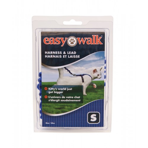 Petsafe Easy Walk Cat Harness And Lead Blue Small