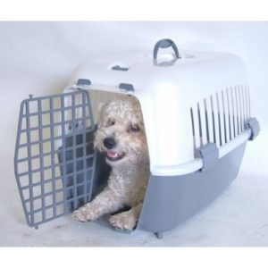 Plastic Pet Carrier Medium 48x33x33cm