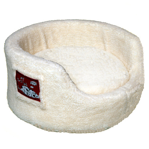Pup My First Bed Sherpa Fleece Cream