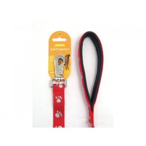 Reflective Soft Protection Nylon Padded Lead Red 40 X 5/8″