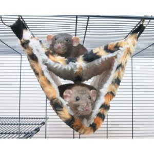 Relax Deluxe Fake Fur Hammock 35x21x21cm