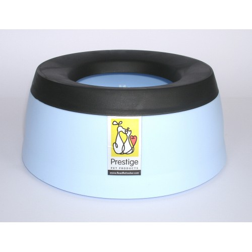 Road Refresher Non Spill Water Bowl Blue Small