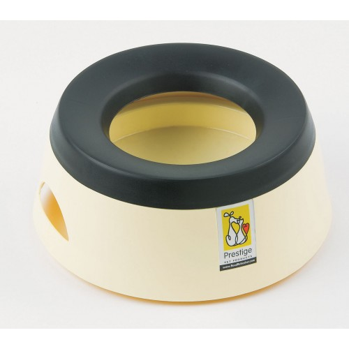 Road Refresher Non Spill Water Bowl Cream Small
