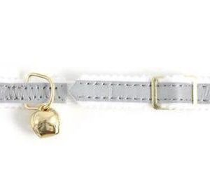 Safety Cat Collar Reflective Silver