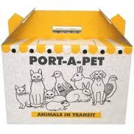 Shaws Medium Port-a-pet Cardboard Carry Box