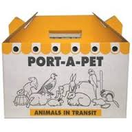 Shaws Standard Port-a-pet Cardboard Carry Box