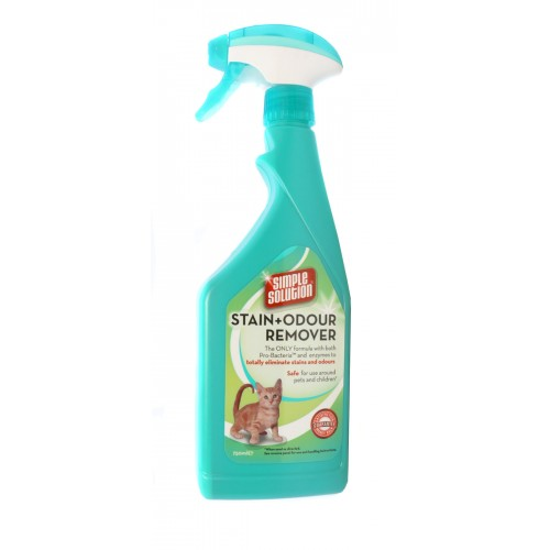 Simple Solution Cat Stain & Odour Remover 750ml