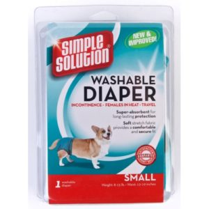 Simple Solution Dog Washable Diaper Small