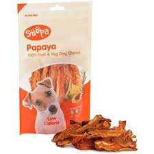 Soopa 100% Papaya Dog Treat 100g x 10