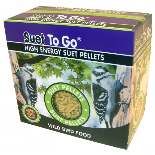 Suet To Go Pellets With Meal Worm 3kg