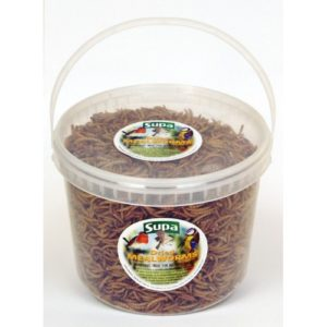 Supa Dried Mealworms 5ltr