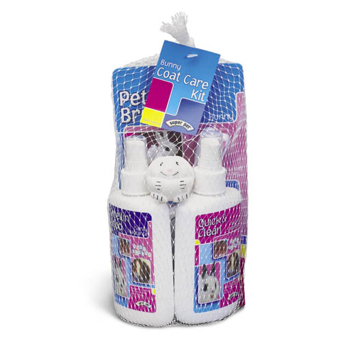 Superpet Bunny Coat Care Kit
